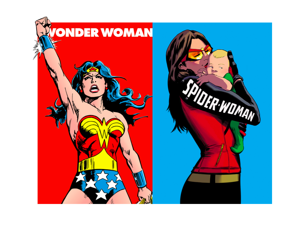Wonder Woman or Spider Woman?
