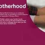 #CelebrateMotherhood Social Networks Banner