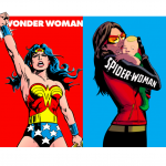 ¿Wonder Woman o SpiderWoman?