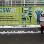 First Week at the CSW 61 - UN - New York